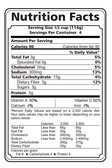 Printable Nutrition Labels | printables nutrition label worksheet agariohi worksheets