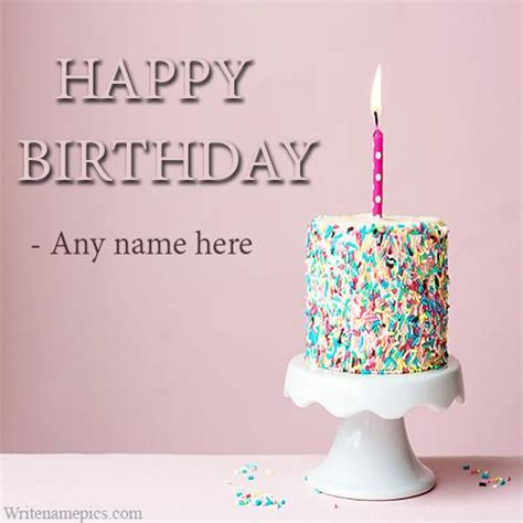 Free Birthday Greeting Cards With Name Editing