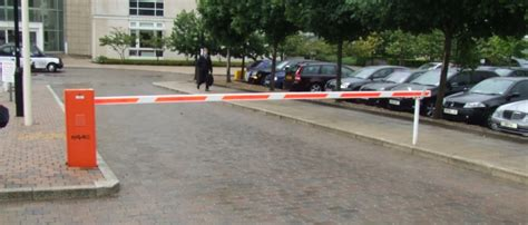 car barrier parking barriers car park barrier systems rising barriers and security gates uk