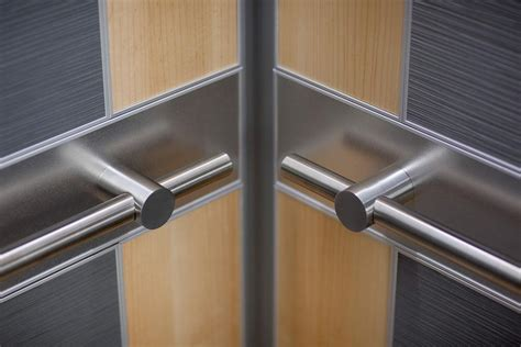 Interior Door Security Elevator Handrails Architectural Forms Surfaces