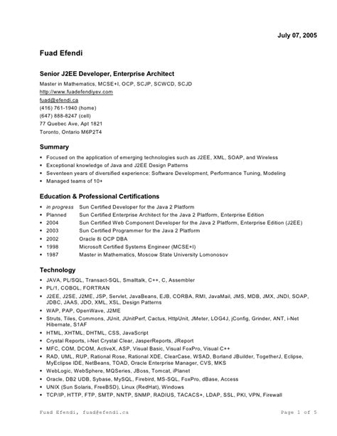 resume for ms in us resume in ms word format