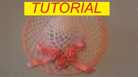 www tutorial tutorial per realizzare un cappellino all uncinetto