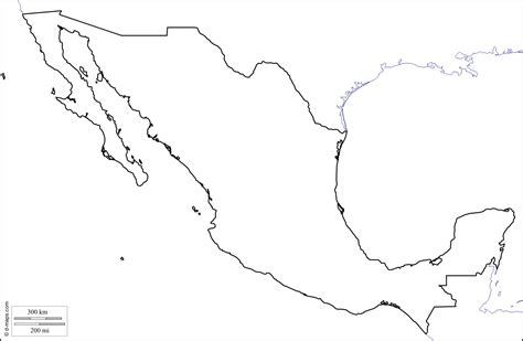 map of us states coloring page mexico free map free blank map free outline map free