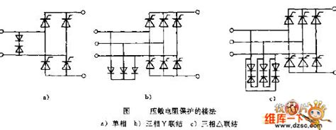 varistor protection circuit varistor protection connection circuit diagram remote control circuit circuit diagram