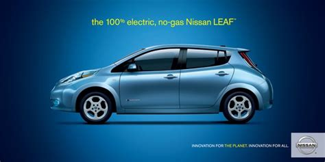 nissan leaf ad one tsunami bad ads nissan s gas station breakup
