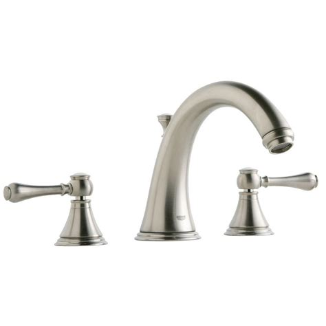 grohe bathtub faucet grohe geneva 2 handle deck mount roman tub faucet in