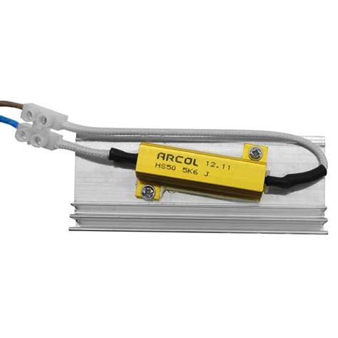 resistive load 240v 10w mr resistor lighting
