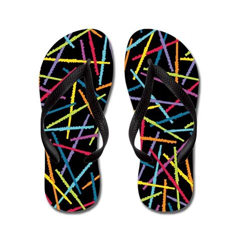 colorful flip flops colorful flutes flip flops by zenguin