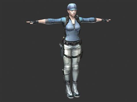 policewoman rigged  model ds maxmaya files   modeling   cadnav