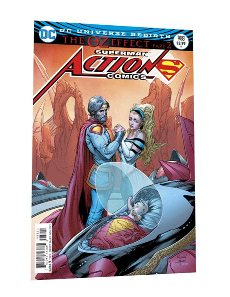 comics superman the oz effect deluxe edition dc comics rebirth the oz effect spoilers comics