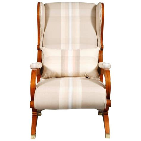 biedermeier armchair white armchair made of rosewood in biedermeier style for
