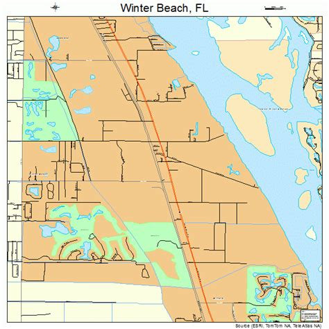 where is winter florida on map winter florida map 1278225