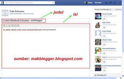 membuat dokumen html cara lengkap membuat dokumen di facebook mak game