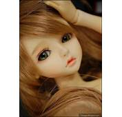 Cute Adorable Sad Doll Girl