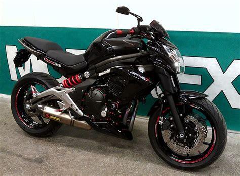 Motorrad Tuning Kawasaki Er6n by Rom Racing Kawasaki Er 6n 2012 Roaring Steel