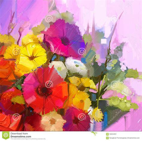 fiori di colore giallo molto fiori in pittura an74 pineglen