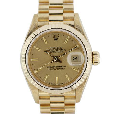 rolex presidential datejust 69178 18kt gold