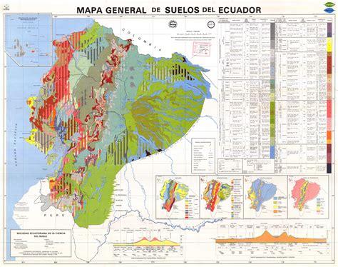 ecuador poesa 1986 2001 y mapa general de suelos del ecuador 1986 mapa owje com