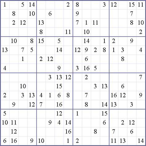 weekly printable sudoku 16x16 sudoku weekly free online printable sudoku games 16x16