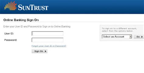 suntrust banking login the best banking