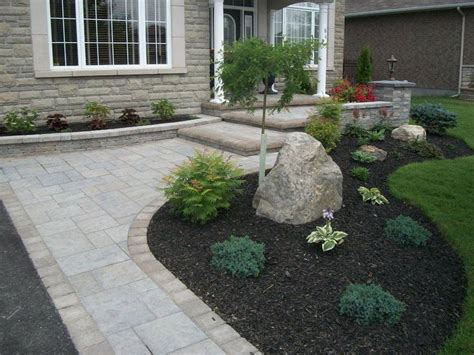 Driveway Landscaping Ideas Driveway Landscaping Ottawa Landscaping Ottawa Interlocking Landscape Design