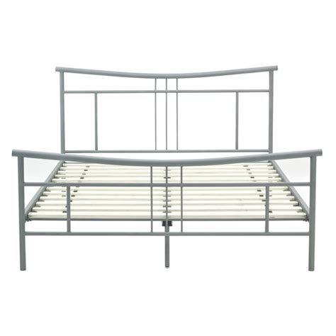 full bed frame with headboard and footboard full size modern metal platform bed frame with headboard