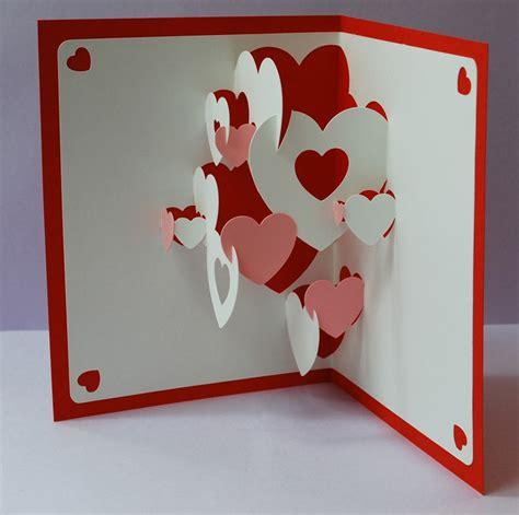 amazing pop up card templates the hacktory diy s day workshop feb 11 the