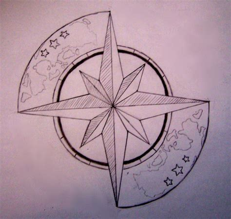 tattoo compass star compass tattoos and designs page 2