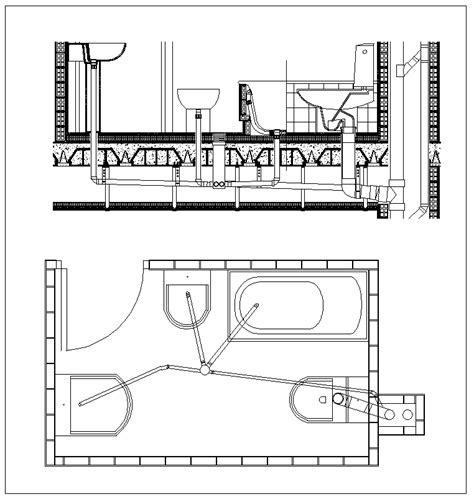 plumbing layout drawings download plumbing details cad files dwg files plans and details