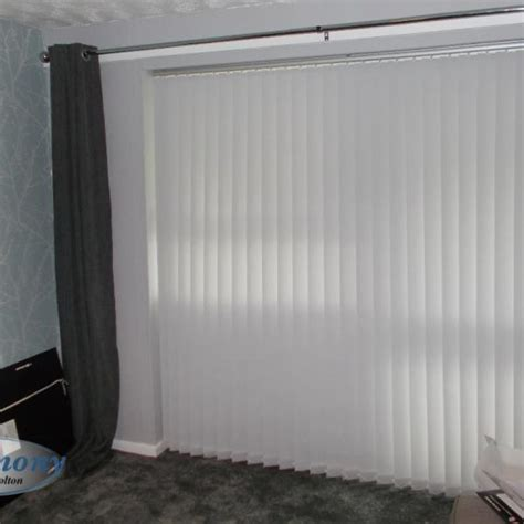 Portfolio Harmony Blinds Of Bolton And Chorley Fabric Vertical Blinds For Patio Doors