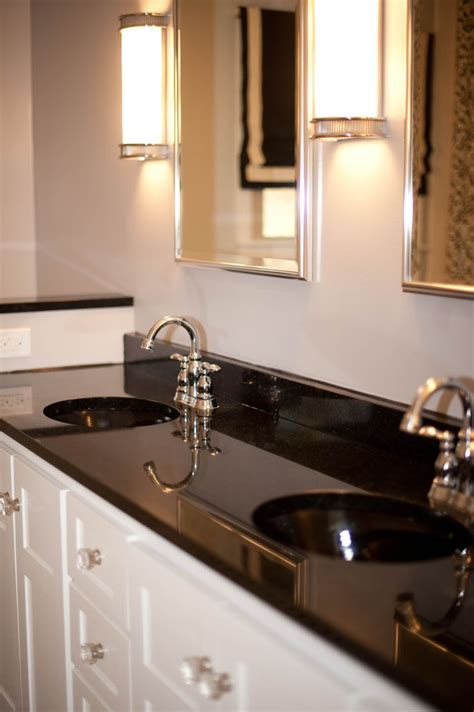 black marble bathroom countertops 25 best ideas about black granite countertops on