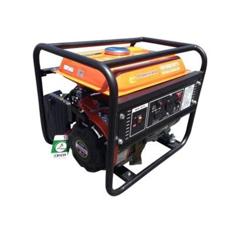 powerland portable 1 500 watt gas electric generator