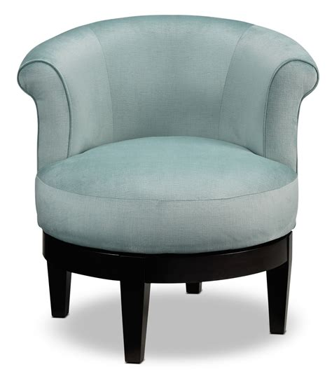 Attica Swivel Accent Chair Aqua Leon S Accent Swivel Chairs
