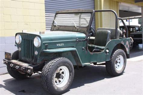 The Barn Van Nuys Rugged 1953 Willys Jeep Cj 3b