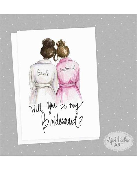 would u be my 12 quot will you be my bridesmaid quot cards we martha