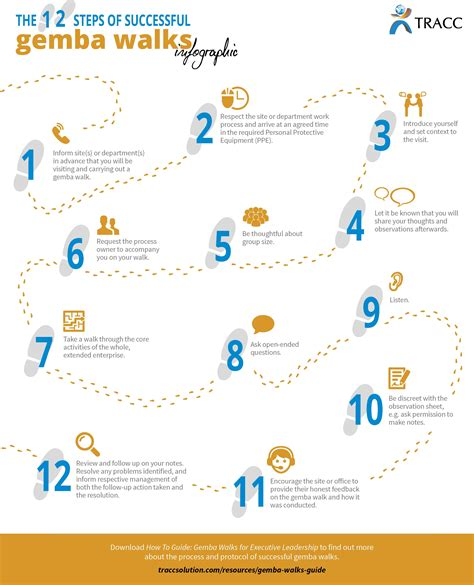 Ge Mba by The 12 Steps Of Successful Gemba Walks Infographic Lss