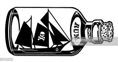 dessin bateau bouteille illustrations et dessins anim 233 s de rhum getty images