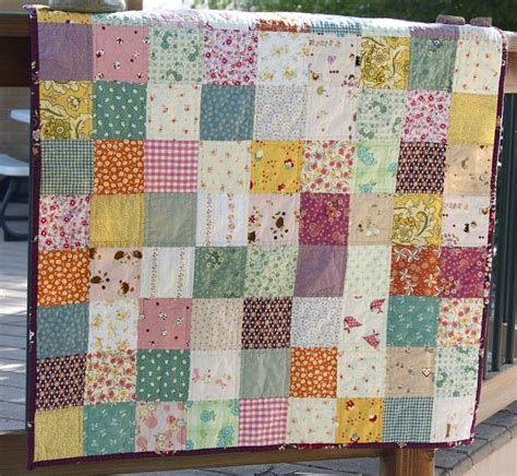 Basic Block Quilt by Quilt In Simple Squares Crafty