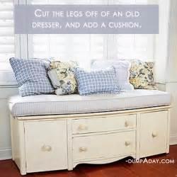 easy do it yourself home decor amazing easy diy home decor ideas old dresser seat dump