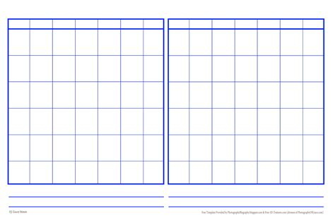 blank yearly calendar grid blank calender 2017 printable calendar