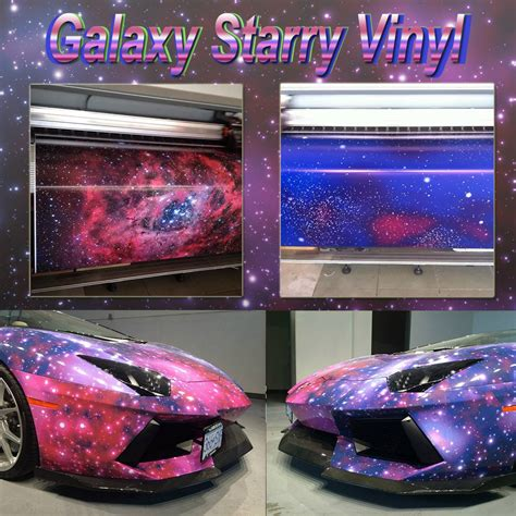 galaxy car wrap car styling graffiti sticker starry sky vinyl camo car