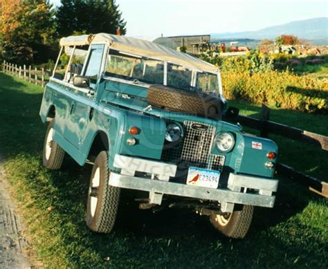 old land rover truck 1967 land rover 109 series iia military truck cooper