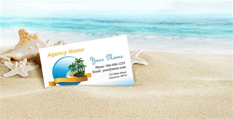 Vacation Card Template by Tourism Travel Business Cards Tour Agents Templates