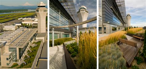 Landscape Architecture Of Oregon Port Of Portland Headquarters Parking Garage Mayer Reed