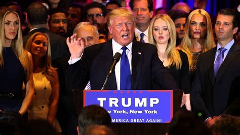 donald trump victory speech president elect trump climate change and sustainable