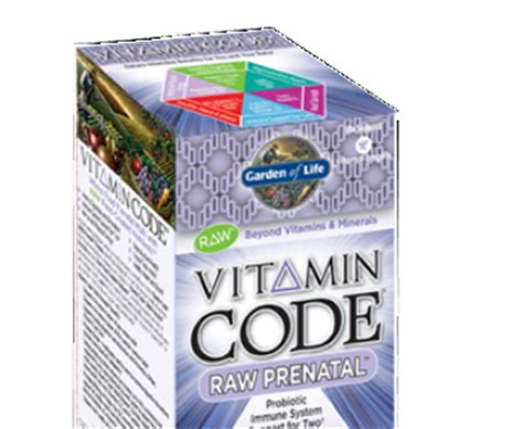 Garden Of Prenatal Aor Garden Of Vitamin Code Prenatal The Healthy Bug