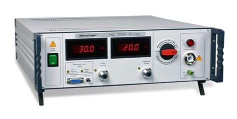 high voltage bench power supply heinzinger electronic heinzinger 174 high precision highvoltage highcurrent power
