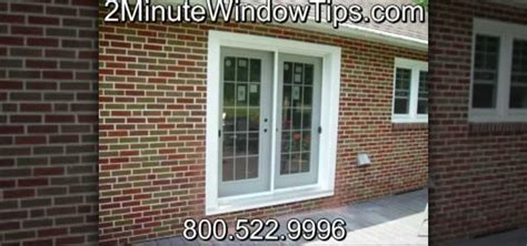 how to install patio doors in a brick wall 171 construction