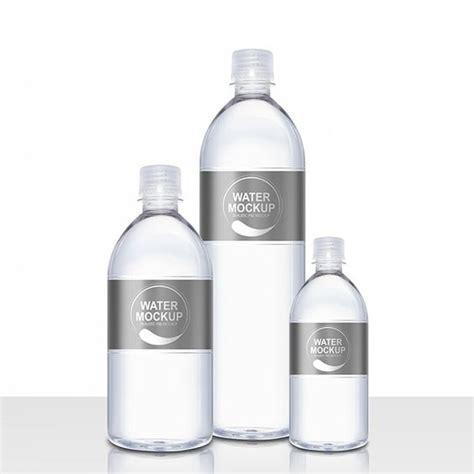Mineral Water Plastic Bottle Psd Mockup Packaging Mockups Pinterest Bottle Water And Plastic Water Bottle Label Template Psd