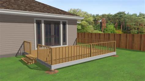 eine terrasse aus holz bauen wikihow
